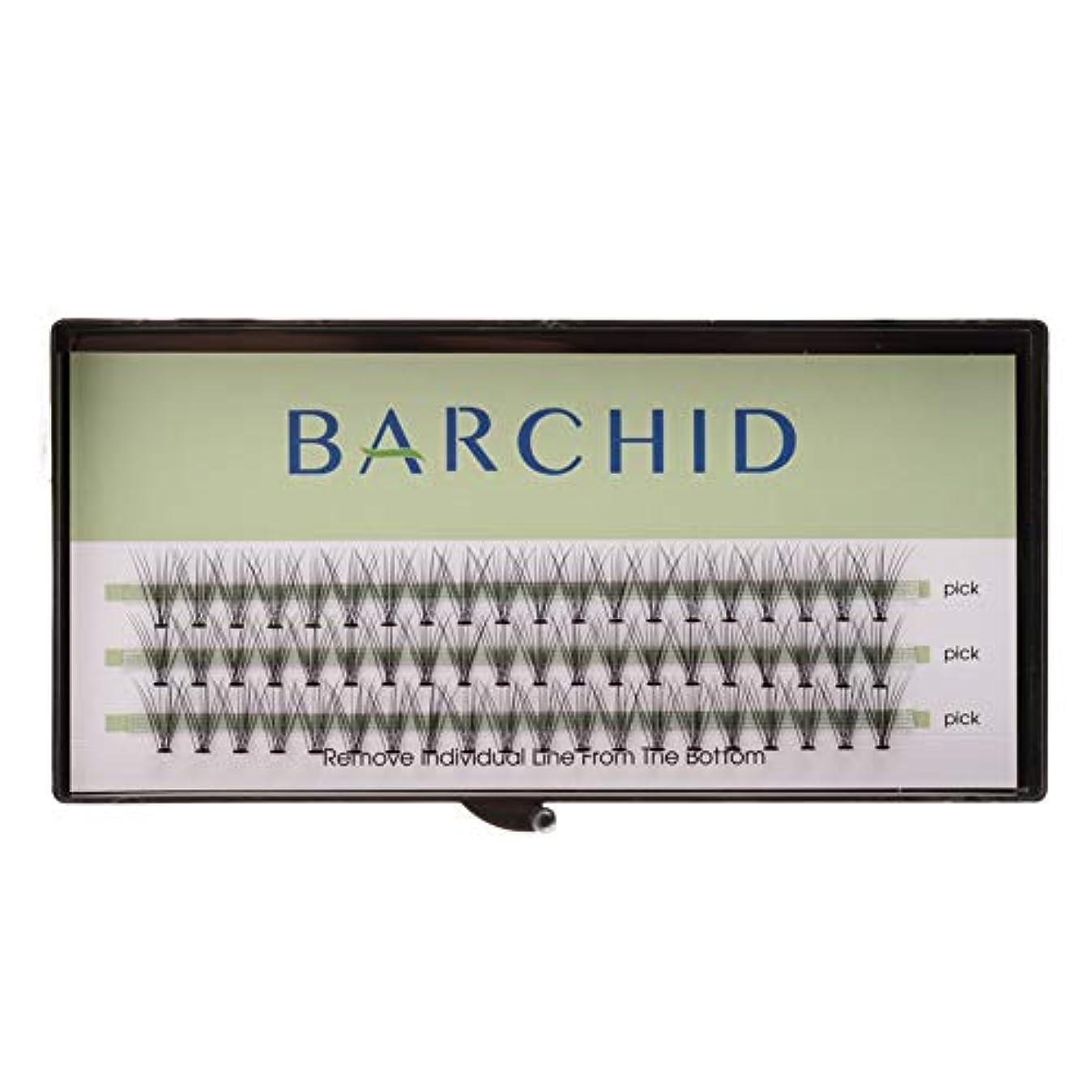 殺人他の日繁雑BARCHID 高品質超極細まつげエクステ太さ0.07mm 10本束10mm Cカール フレア セルフ用 素材  マツエク