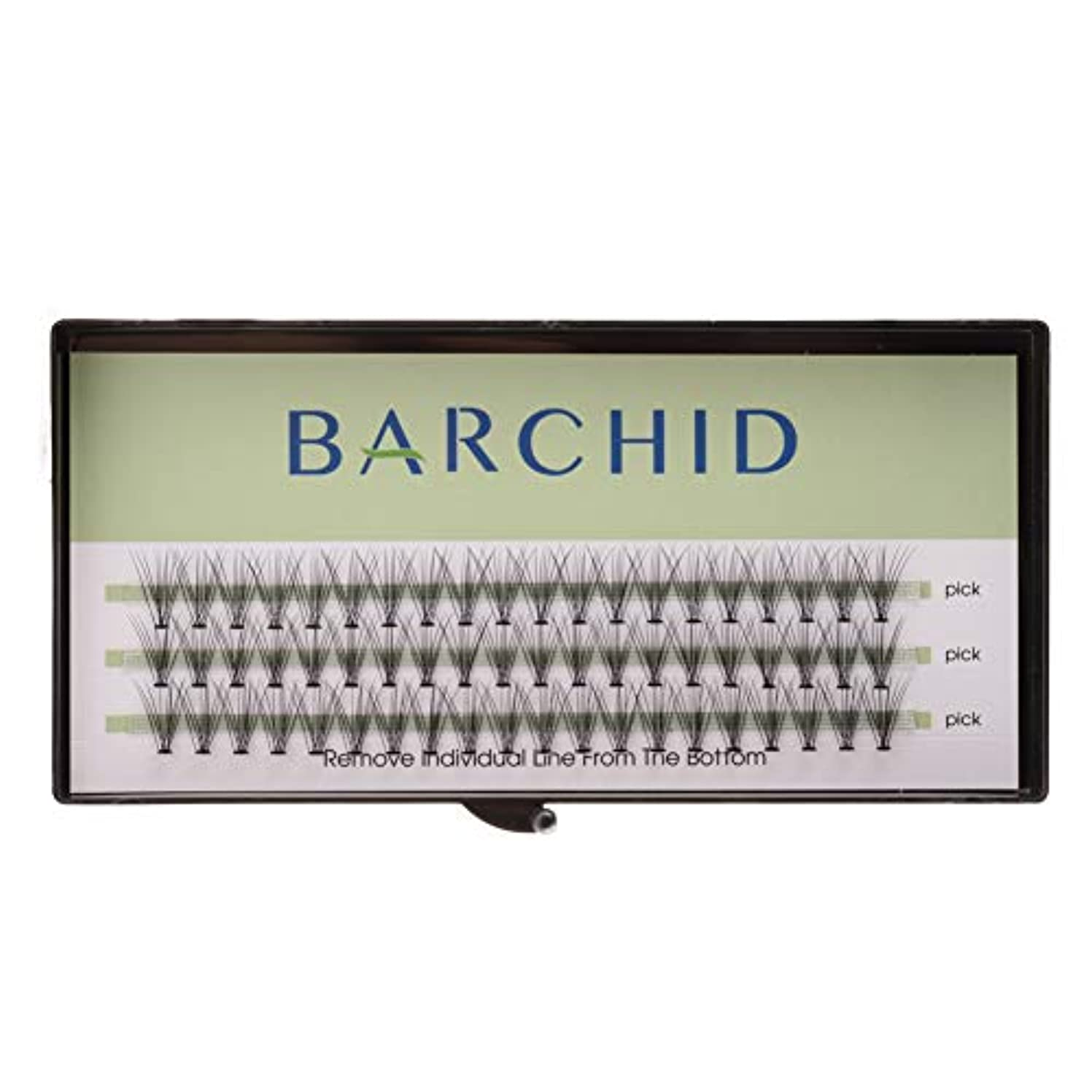 アライメント明らかにするリスキーなBARCHID 高品質超極細まつげエクステ太さ0.07mm 10本束10mm Cカール フレア セルフ用 素材  マツエク