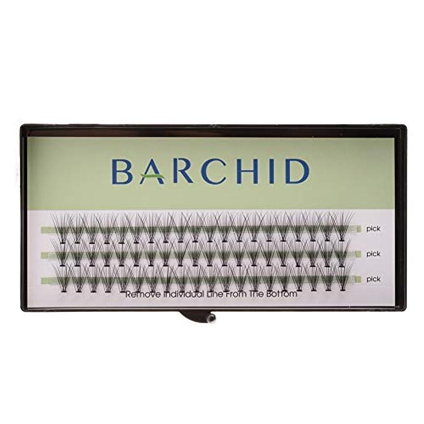 こっそりパーツ噂BARCHID 高品質超極細まつげエクステ太さ0.07mm 10本束10mm Cカール フレア セルフ用 素材  マツエク