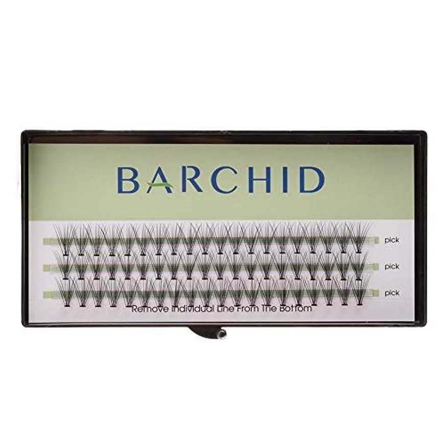 検査変化アルミニウムBARCHID 高品質超極細まつげエクステ太さ0.07mm 10本束10mm Cカール フレア セルフ用 素材  マツエク