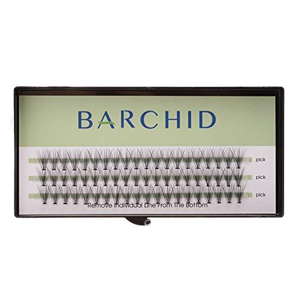 BARCHID 高品質超極細まつげエクステ太さ0.07mm 10本束10mm Cカール フレア セルフ用 素材  マツエク