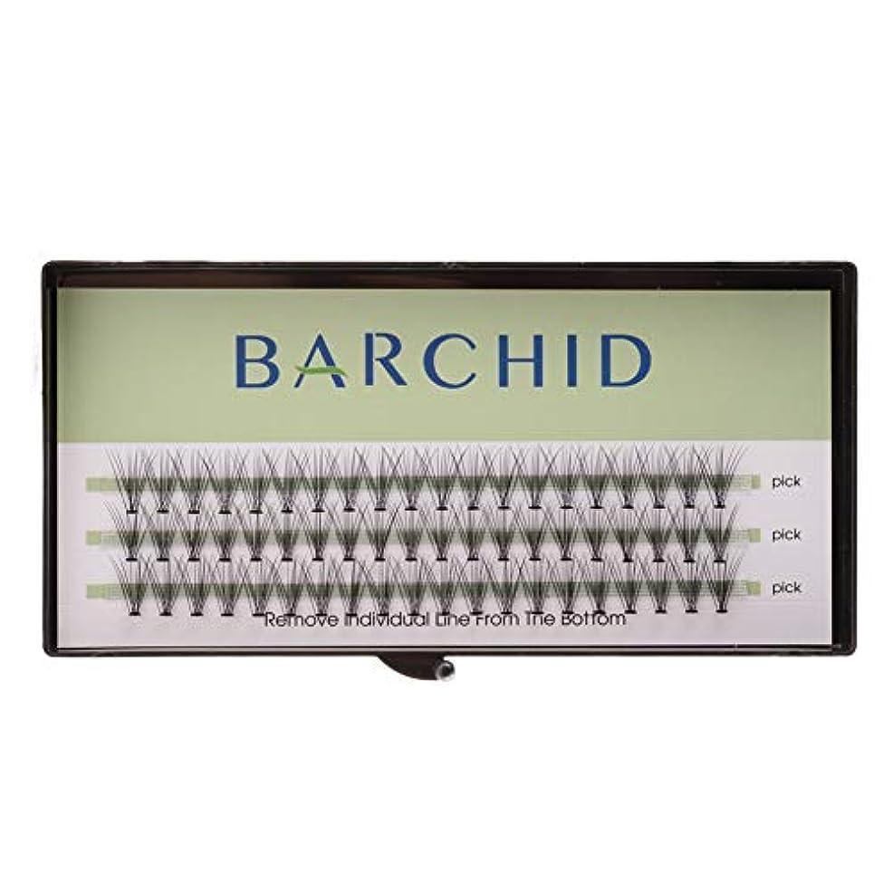 純正変わる見えないBARCHID 高品質超極細まつげエクステ太さ0.07mm 10本束10mm Cカール フレア セルフ用 素材  マツエク