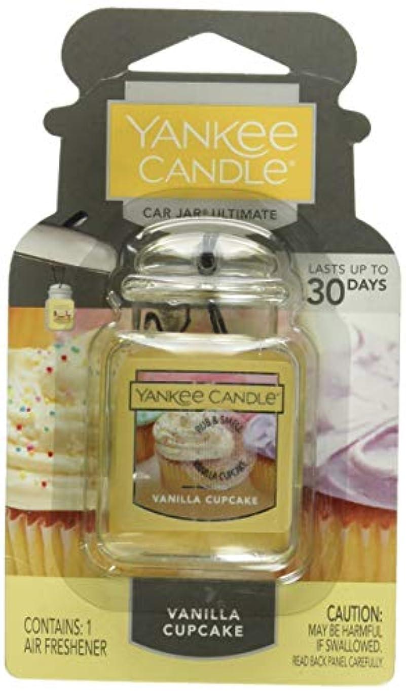 差別化するチャンバーピラミッドYankee Candle Small Tumbler Candle、バニラカップケーキ Car Jar Ultimate 1220923Z