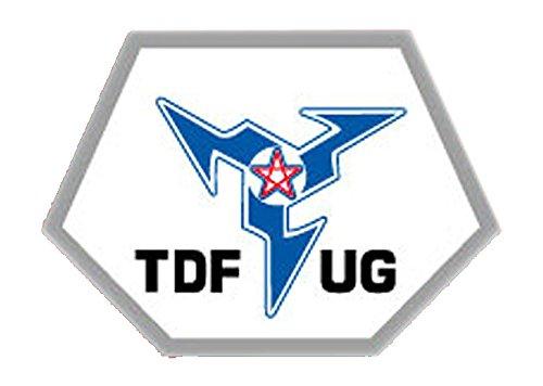 ライセンス取得済み★ウルトラセブン  チームエンブレムステッカー TDF-UG