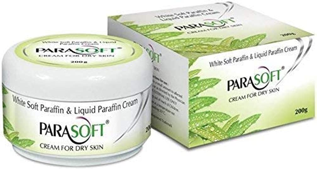 ショッキング嵐の疎外Parasoft dry skin cream paraben free with added goodness of natural aloevera 200g