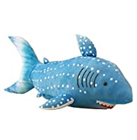 JN® 鮫 ぬいぐるみ 抱き枕 クッション リアル サメ おもちゃ お昼寝枕 インテリア クリスマス 誕生日 プレゼント (63CM)