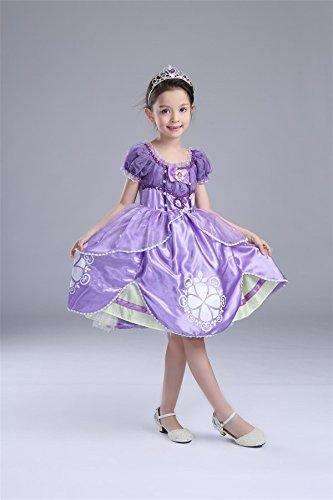 2cdc537acd183 プリンセスなりきり 子供 ドレス キッズ 子ども お姫様 ワンピース お姫様ドレス 女の子 なりきり キッズドレス ちいさなプリンセス ソフィア  (150サイズ)