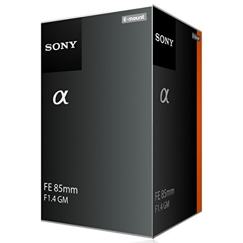 Sony FE 85mm f/1.4 GM Lens E-Mount Lens SEL85F14GM - International Version (No Warranty) [並行輸入品]