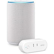 Echo (エコー) 第3世代 - スマートスピーカー with Alexa、サンドストーン + ゴウサンド(Gosund) WiFi スマートプラグ gs-wp6-1-jp