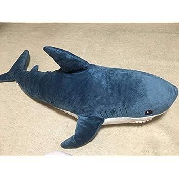 IKEA ソフトトイ シャーク サメ ぬいぐるみ 抱き枕