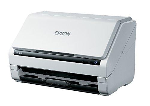 セイコーエプソン セイコーエプソン A4シートフィードスキャナー/両面同時読取/A4片面35枚/分 200/300dpi DS-530 1台