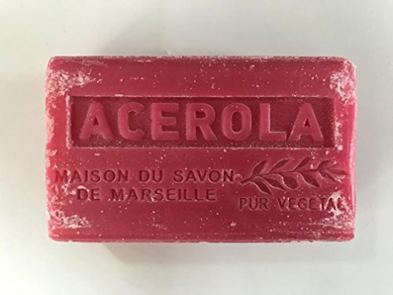 スリーブパーティション覚醒Savon de Marseille Soap Acerola Shea Butter 125g