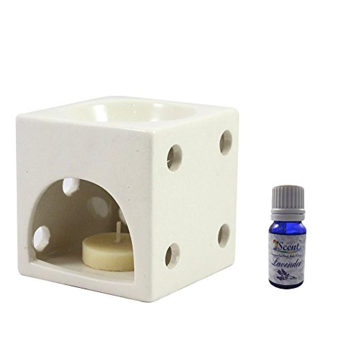 ポーンパテたとえ家の装飾定期的に使用する汚染フリーハンドメイドセラミックエスニックティーライトキャンドルアロマディフューザーオイルバーナーロータスフレグランスオイル|ホワイトカラーティーライトキャンドルアロマテラピー香オイルウォーマー数量1