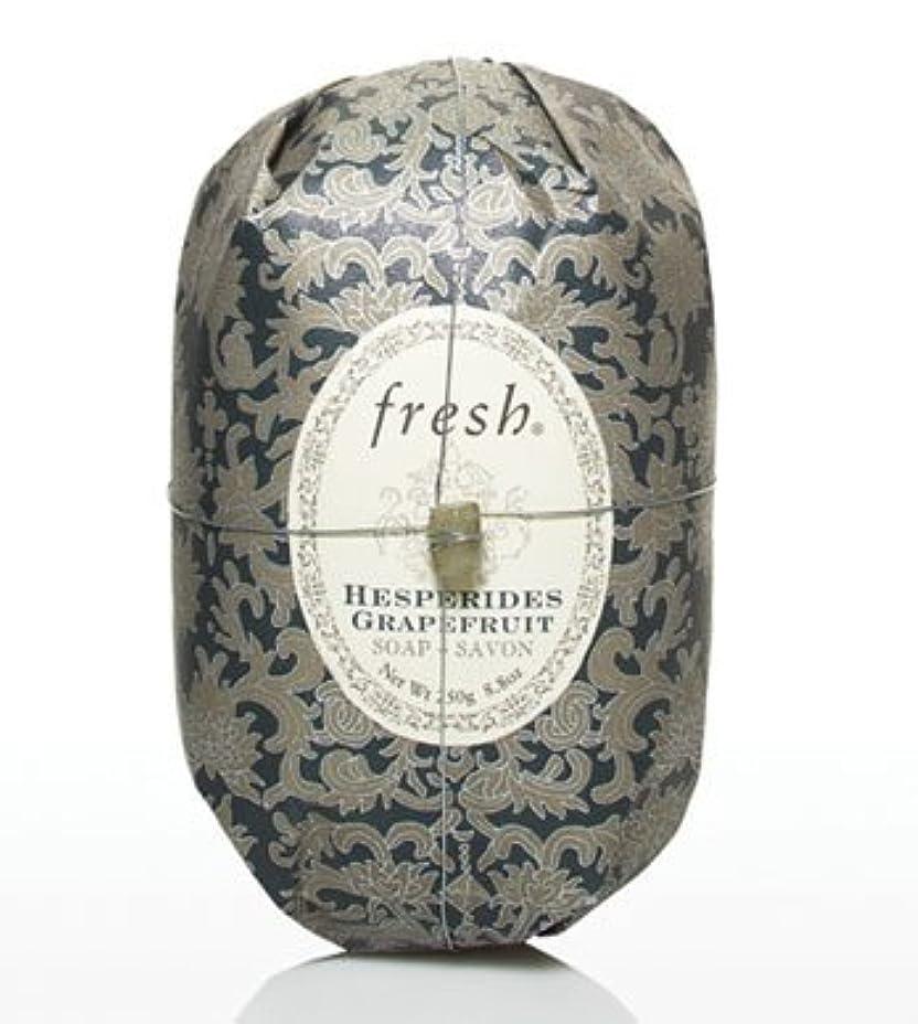 メタリック徒歩で側Fresh HESPERIDES GRAPEFRUIT SOAP (フレッシュ ヘスペリデス グレープフルーツ ソープ) 8.8 oz (250g) Soap (石鹸) by Fresh
