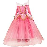 眠れる森の美女 オーロラ姫 プリンセスドレス なりきり コスチューム コスプレ ハロウィーン 仮装パーティー お誕生日 プレゼント 可愛い ガールズ 女の子 子供