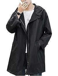 コート メンズ トレンチコート ロングコート フード付き アウター コート 大きいサイズ シンプル トレンチコート カジュアル ビジネス コート 春秋冬