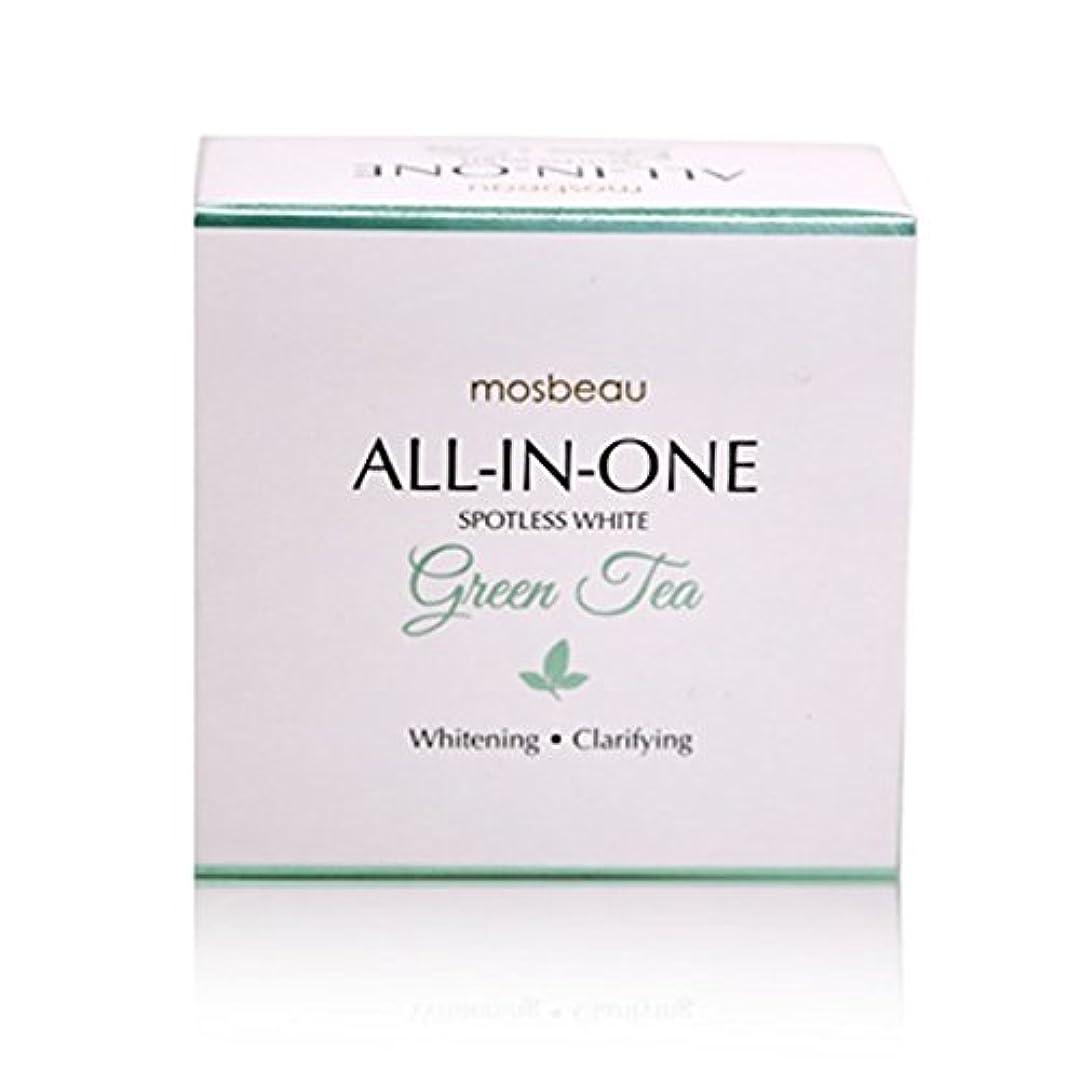 楕円形スピーチのためmosbeau Spotless White GREEN TEA Facial Soap 100g モスビュー スポットレス ホワイト グリーンティー フェイシャル ソープ