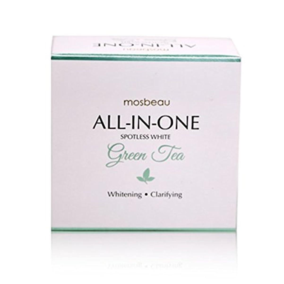 韓国語悲劇温かいmosbeau Spotless White GREEN TEA Facial Soap 100g モスビュー スポットレス ホワイト グリーンティー フェイシャル ソープ