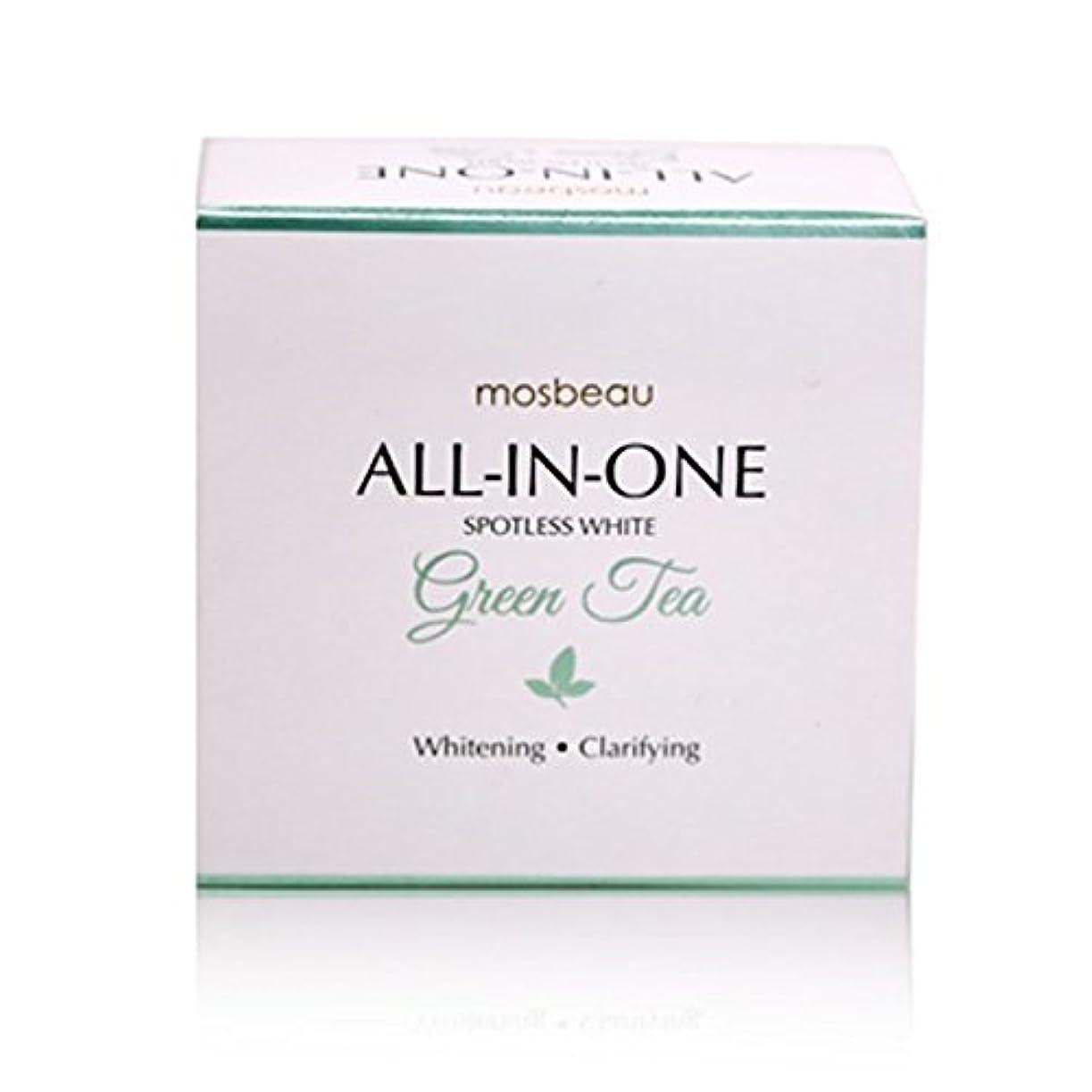 風刺屋内でディプロマmosbeau Spotless White GREEN TEA Facial Soap 100g モスビュー スポットレス ホワイト グリーンティー フェイシャル ソープ