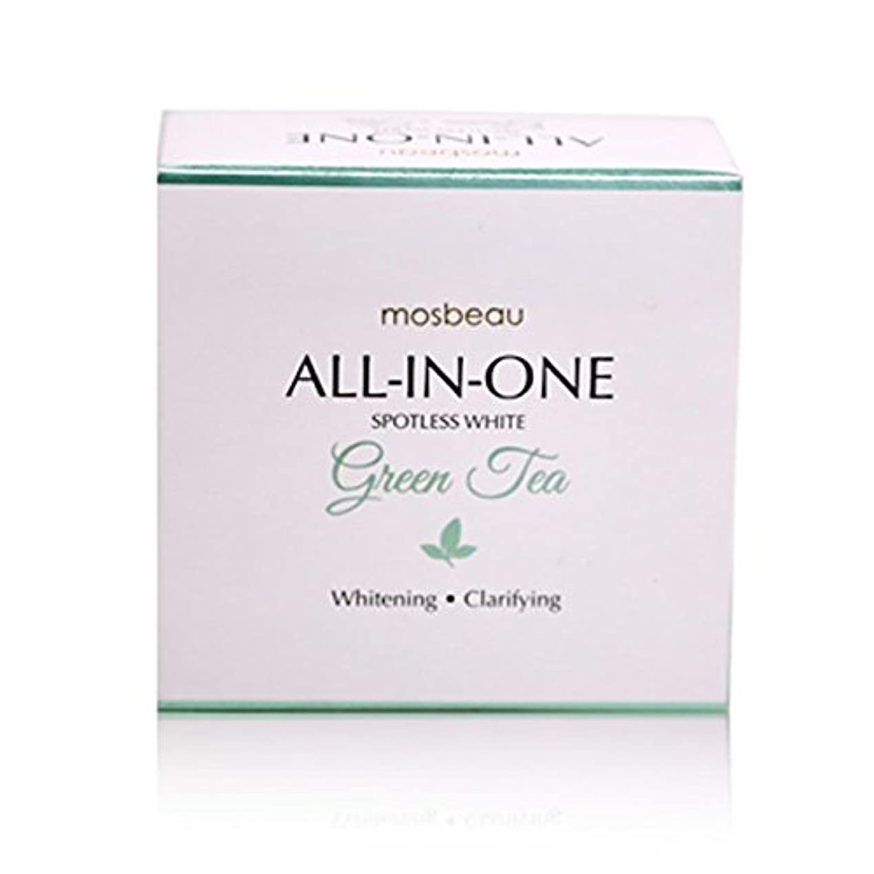 避難桃中級mosbeau Spotless White GREEN TEA Facial Soap 100g モスビュー スポットレス ホワイト グリーンティー フェイシャル ソープ