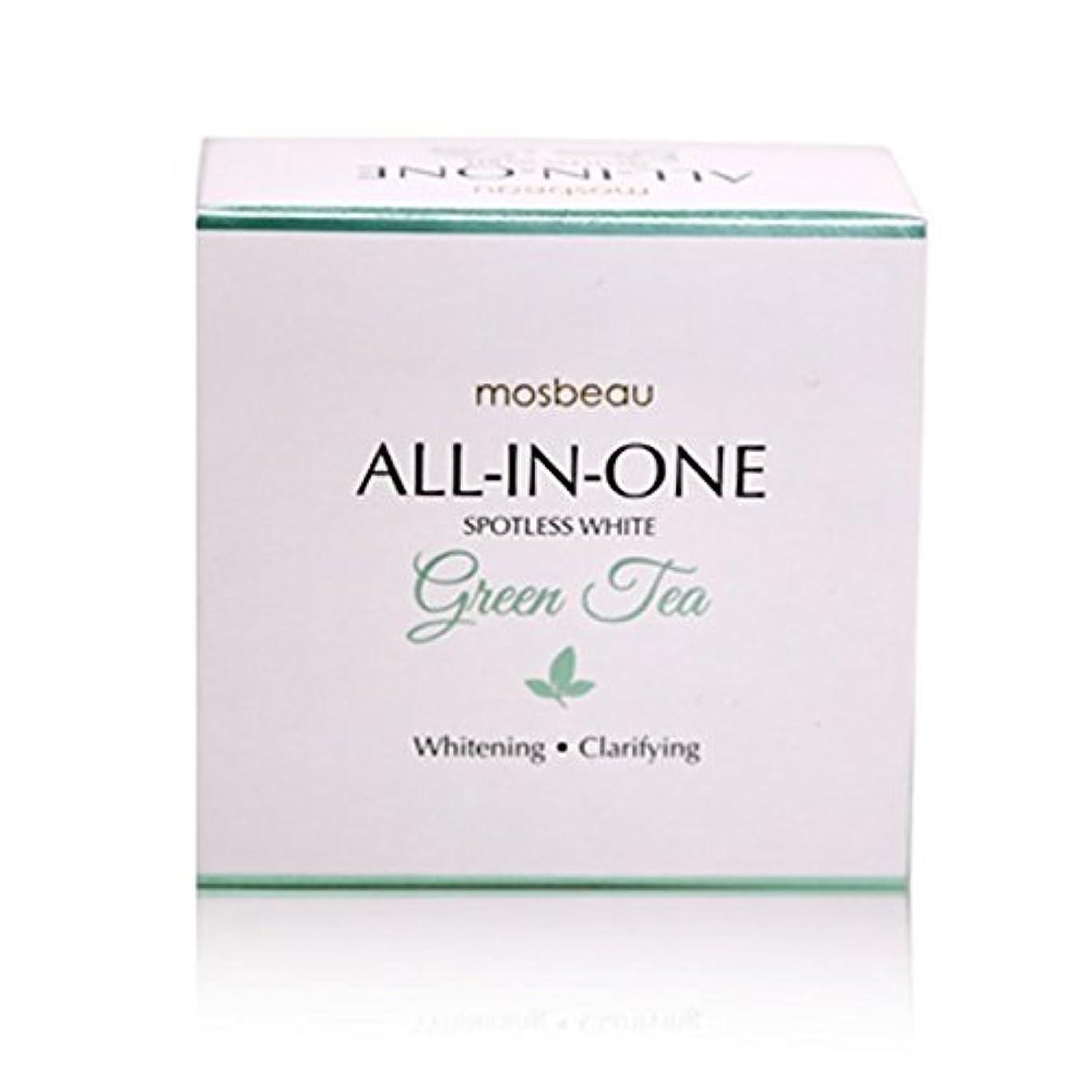 飛躍展開する取り壊すmosbeau Spotless White GREEN TEA Facial Soap 100g モスビュー スポットレス ホワイト グリーンティー フェイシャル ソープ