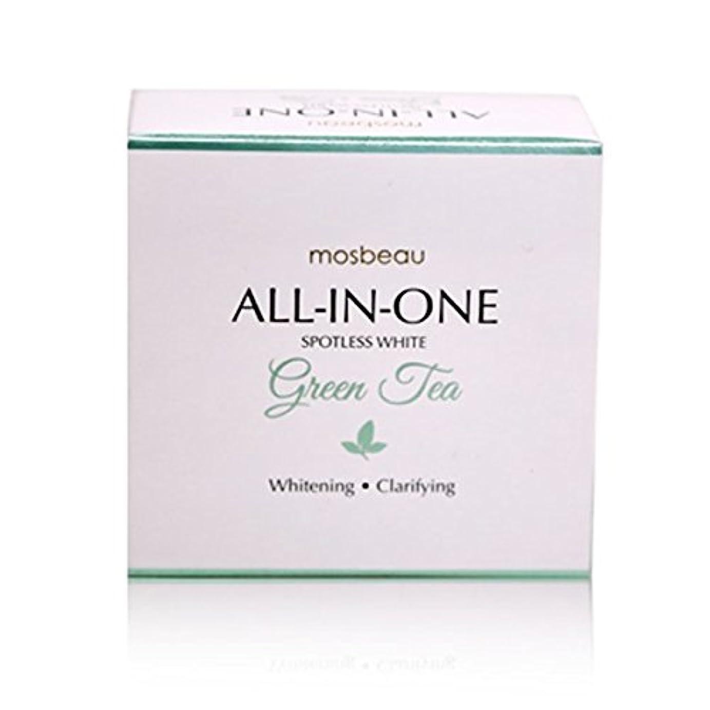 チャレンジ直接ポップmosbeau Spotless White GREEN TEA Facial Soap 100g モスビュー スポットレス ホワイト グリーンティー フェイシャル ソープ
