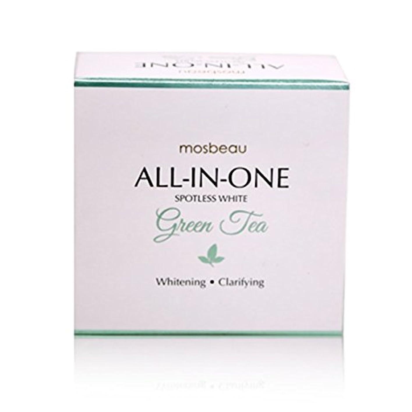 ブランデー補正予感mosbeau Spotless White GREEN TEA Facial Soap 100g モスビュー スポットレス ホワイト グリーンティー フェイシャル ソープ