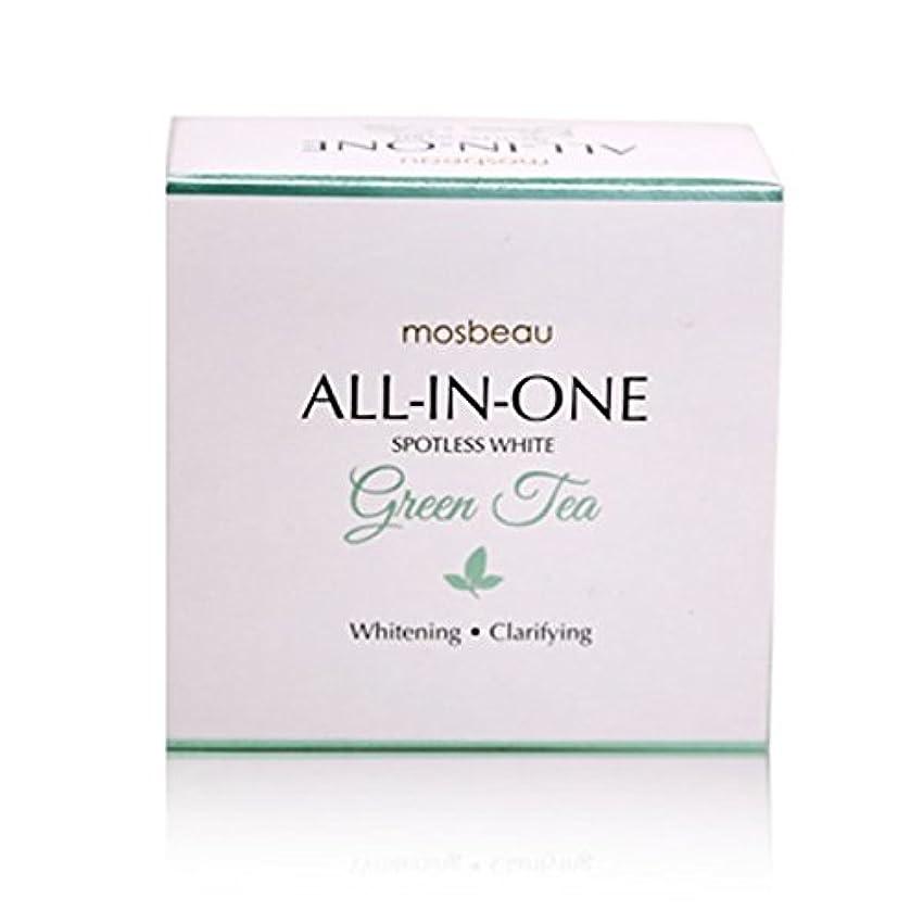 放出禁止間欠mosbeau Spotless White GREEN TEA Facial Soap 100g モスビュー スポットレス ホワイト グリーンティー フェイシャル ソープ