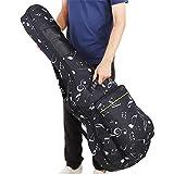 Wbestexercises アコースティックギターソフトケース 39/40/41インチ ギターバックパック オックスフォードダブルストラップバッグ