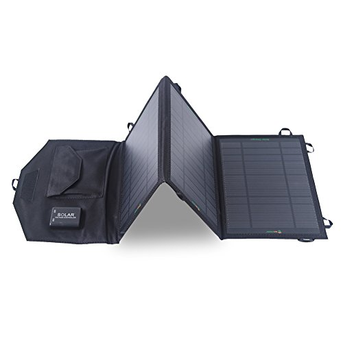 SUNKINGDOM 2ポート USB接続 折りたたみ式 ソーラーチャージャー