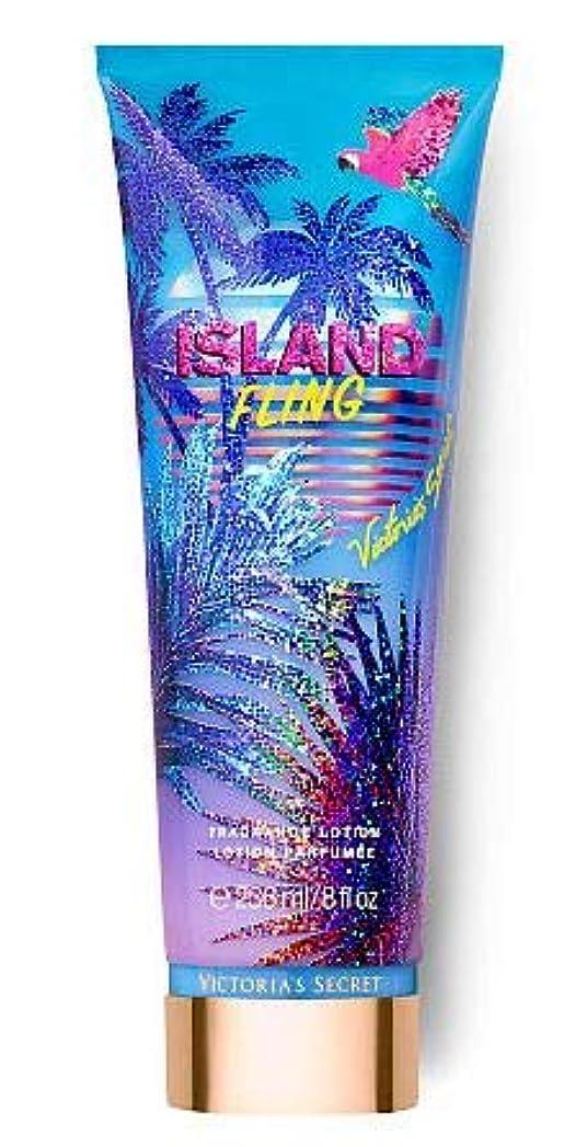 台風遺跡購入Victoria's Secret(ヴィクトリアシークレット) Tropic Dreams Fragrance Lotions ISLAND FLING [並行輸入品]