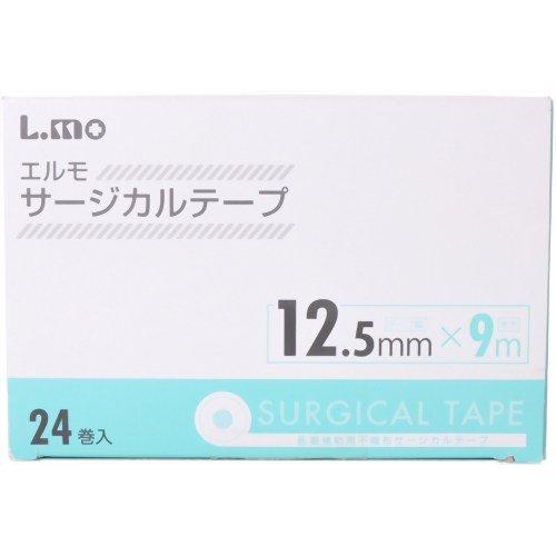 エルモ サージカルテープ医療用  12.5mmX9m (24巻入)
