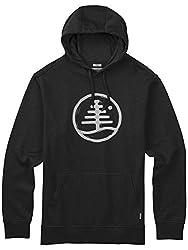 バートン(バートン) Woodblock Family Tree Recycled Pullover BLACK 17228100015 Mウインター衣料小物 ジャケット (Men's)