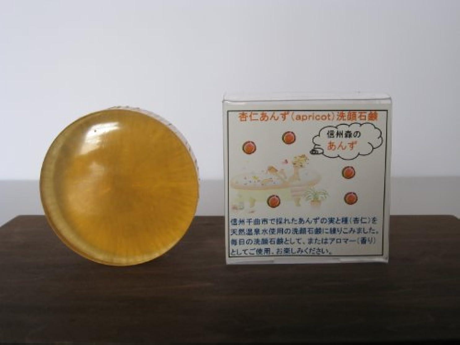 クレア威信効果的に森の杏仁あんず洗顔石鹸アプリコット