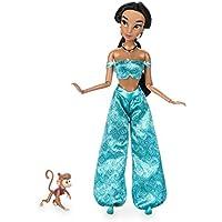 【ディズニーストアUSA】 ジャスミン クラシックドール & アブー フィギュア 11.5インチ Jasmine Classic Doll with Abu Figure - 11 1/2'' [並行輸入品]