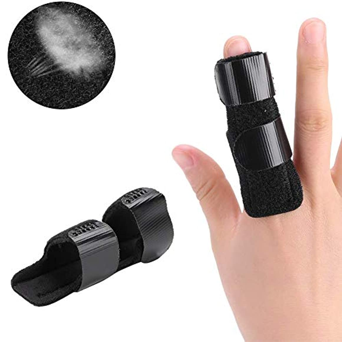 範囲ナット泥ばね指スプリント、ストレートカーブ、曲がった、ロックされたとStenosing腱鞘炎手、指の骨折、術後ケアとばね指の痛みを軽減、全指のためのスーツのためのサポートブレース