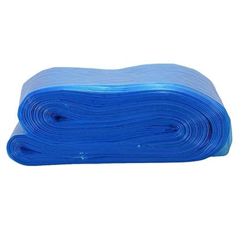 会員レトルト発生RaiFu タトゥークリップカバー バッグ タトゥーアクセサリー コード スリーブバッグ タトゥーマシンのため 使い捨て プロフェッショナル ブルー 100PCS/パック