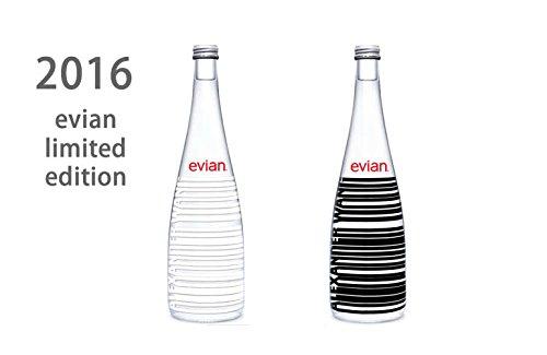 エビアン2016年デザイナーズボトル(evian by Alexander Wang) 750ml瓶x12本入