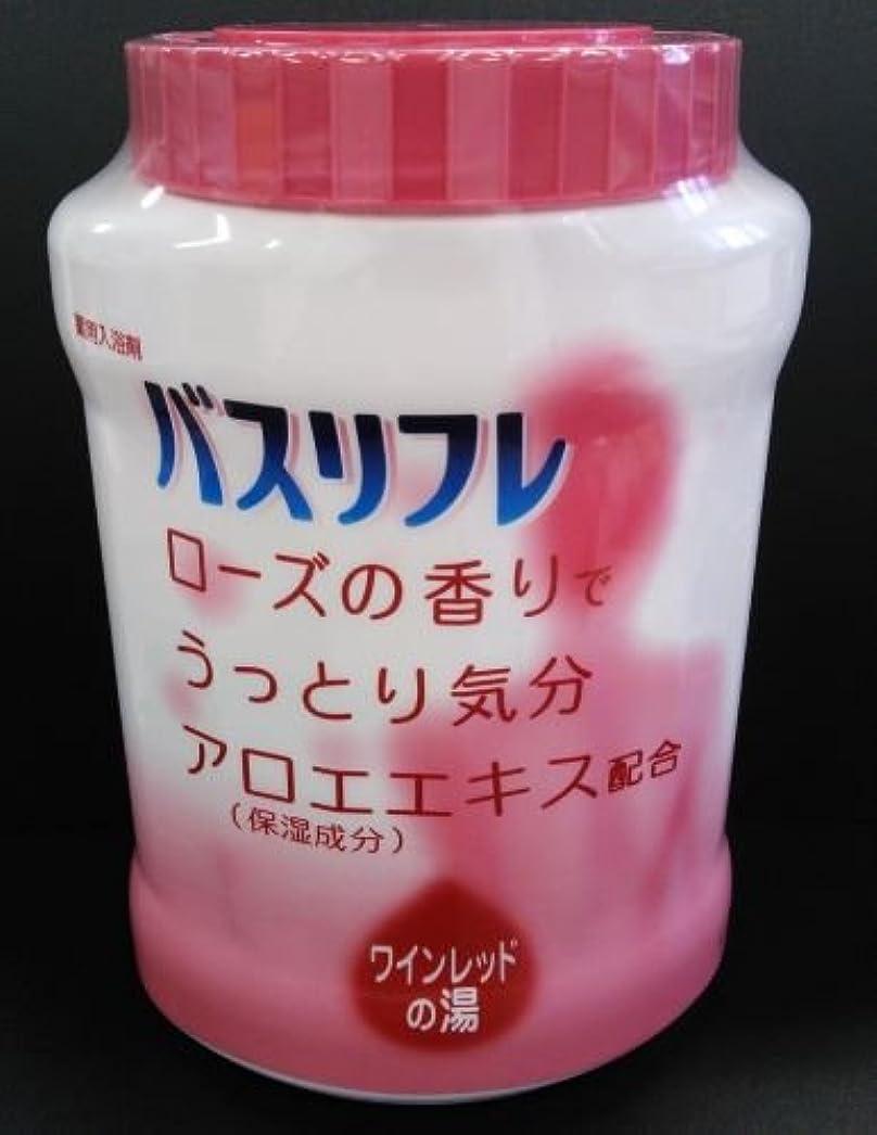 ぬれたくつろぐあいさつバスリフレ 薬用入浴剤 ローズの香り (4900480223578)