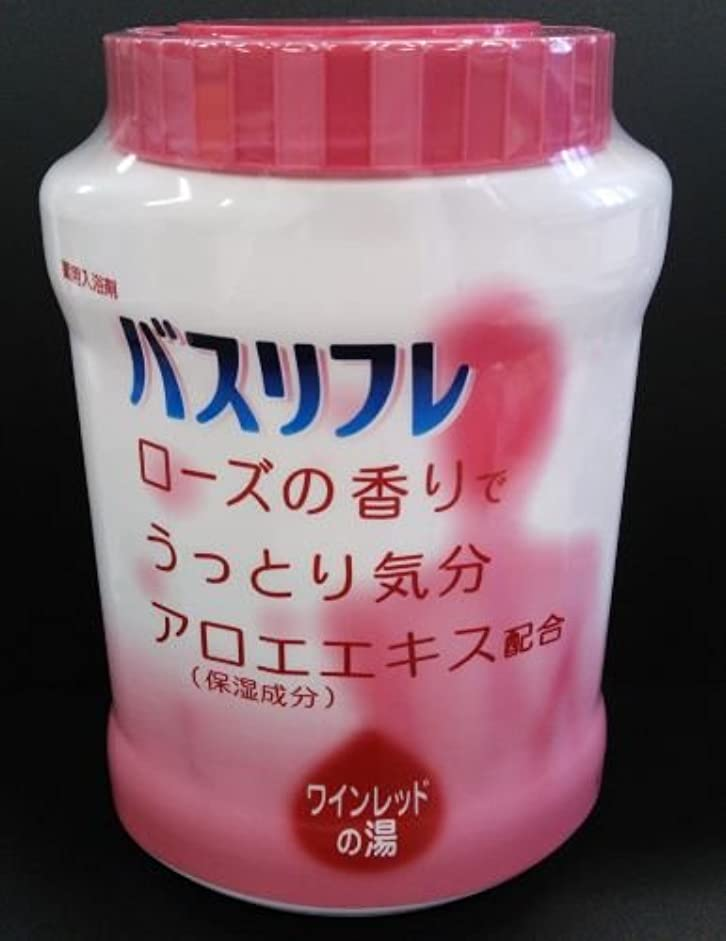 理論的局囲まれたバスリフレ 薬用入浴剤 ローズの香り (4900480223578)