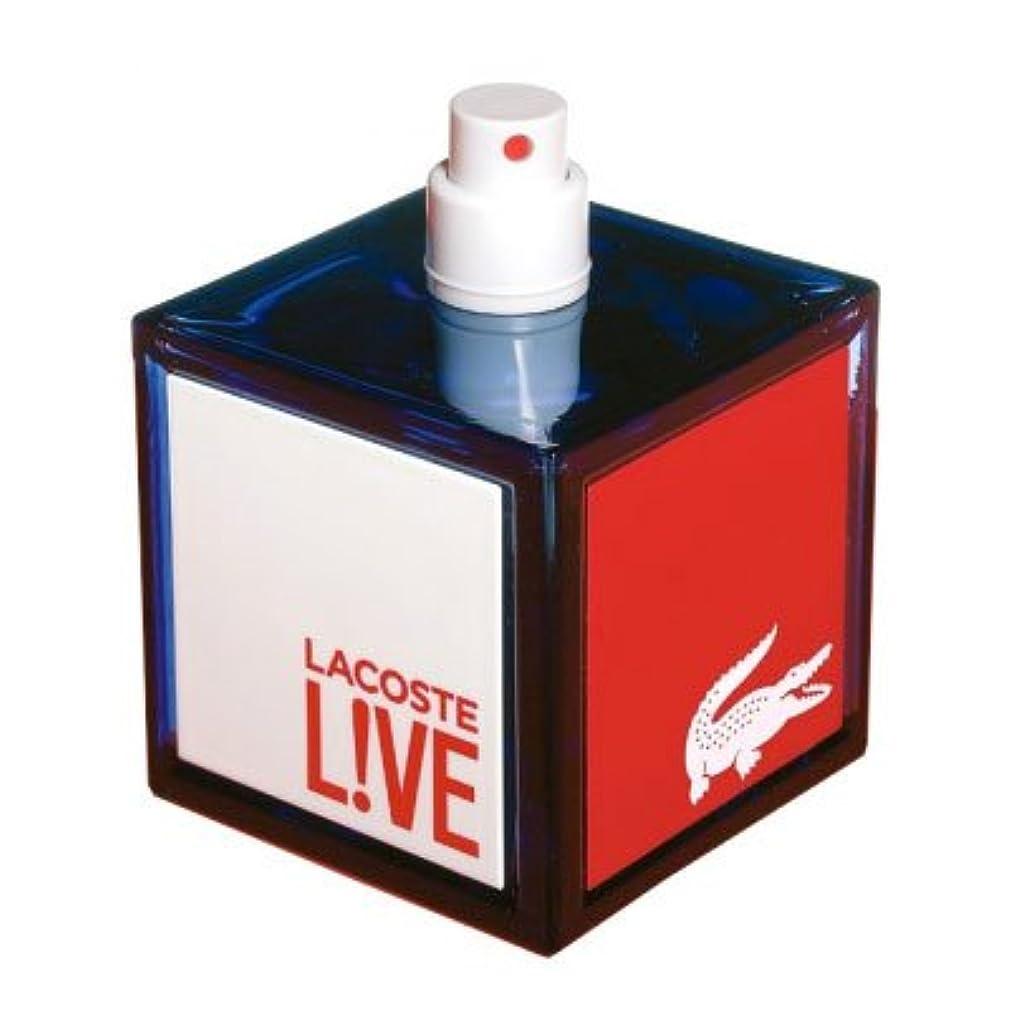 インフルエンザ医薬品拮抗Lacoste Live (ラコステ リブ) 3.3 oz (100ml) EDT Spray by for Men
