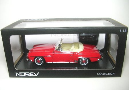 1/18scale ノレブ NOREV Mercedes-Benz 190 SL 1957 Red メルセデス ベンツ