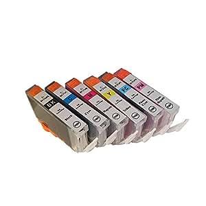 3年保証 キャノン (CANON)用 BCI-7e 互換インクカートリッジ 6色セット BK/C/M/Y/PC/PM ベルカラー製