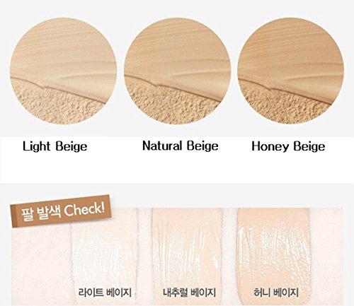 『ETUDE HOUSE Real Powder Cushion SPF50+ PA+++ 14g (#Light Beige)/エチュードハウス リアル パウダー クッション SPF50+ PA+++ 14g (#Light Beige)』の1枚目の画像