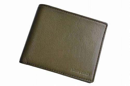 [ピエールカルダン] 二つ折り財布 メンズ ゴートスキン 札...