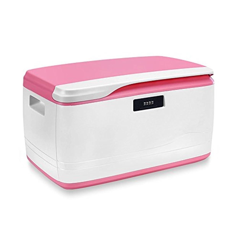悪化する発生パッケージ応急処置キット 家の薬の貯蔵容器の収納箱のための大きく多機能の空の救急箱 ストレージ救急用品 (Color : Pink)