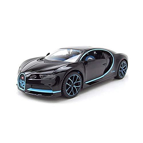 MAISTO ブガッティ シロン 1/24 Bugatti Chiron LE PATRON N 42 2017 - ZERO 400Km/h ZERO 42 SECONDS - MONTOYA [並行輸入品]