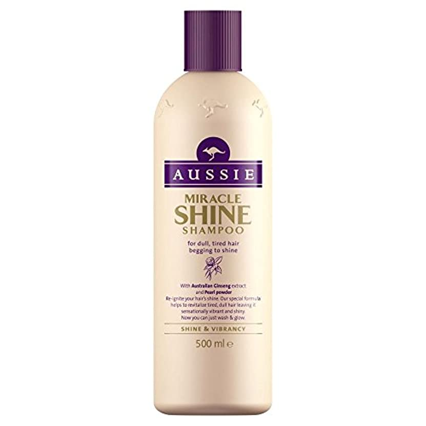 財布一回無礼にAussie Miracle Shine Shampoo (500ml) オージー奇跡の輝きシャンプー( 500ミリリットル) [並行輸入品]