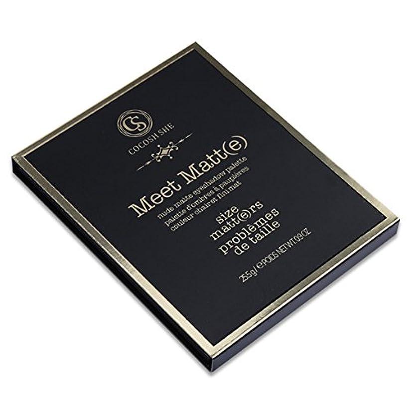 ガード偽善者爆発物アイシャドーパレット スムースマットアンダーグラウンドアイシャドーパレットアイズ顔料粉末化粧品(970)