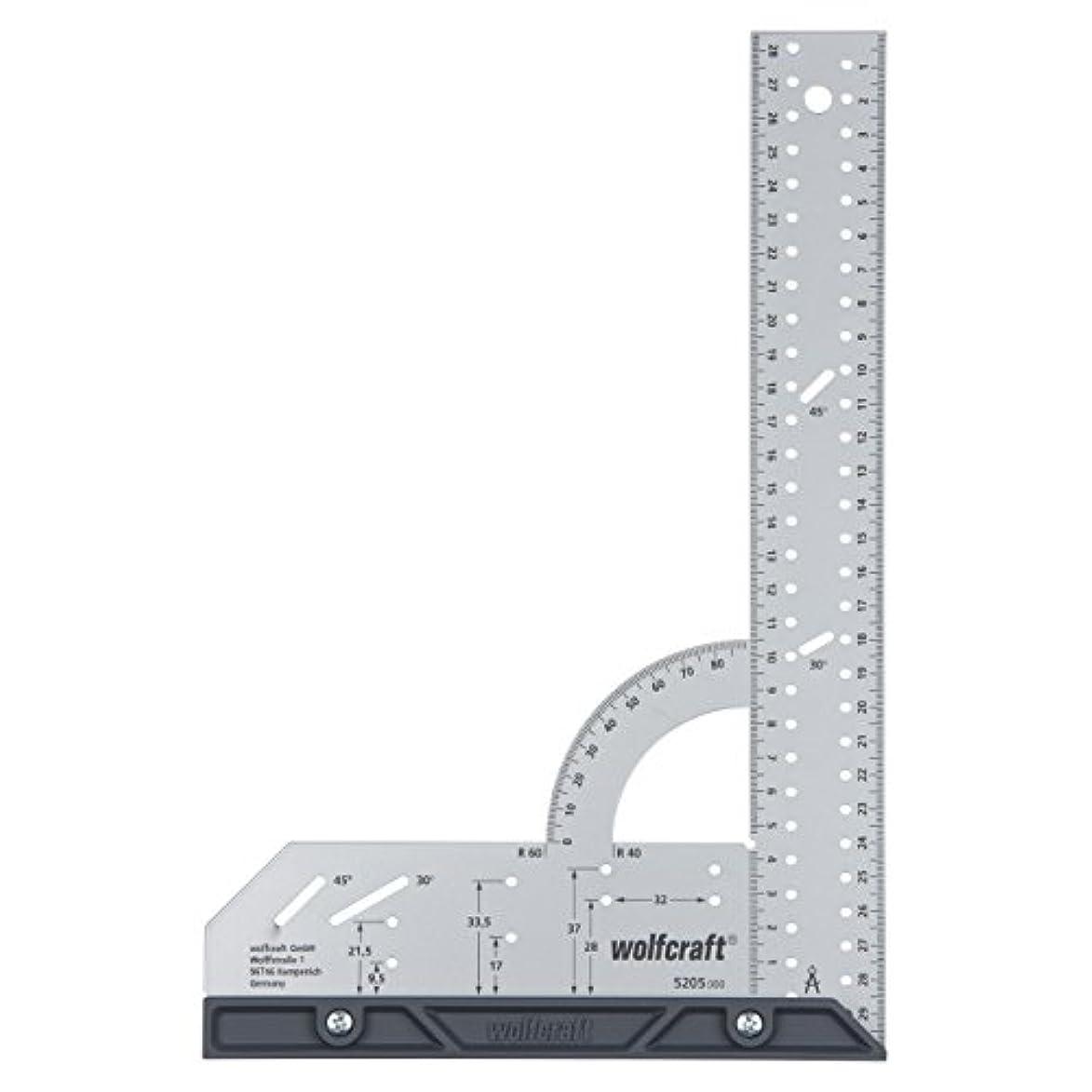マイナー季節まろやかなウルフクラフト (WOLFCRAFT) 5205000 ユニバーサルアングル メジャーツール Universal angle measuring tools 200×300mm
